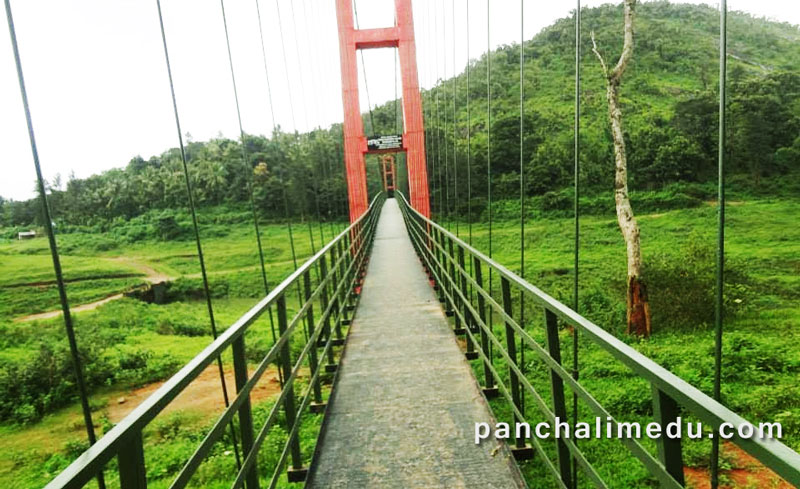 Kovil Mala hanging Bridge
